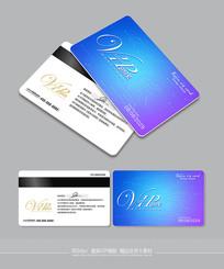 创意电路图时尚vip卡模板 PSD