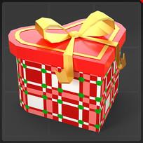 礼物盒圣诞礼物心形装饰品