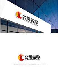 鸟元素logo设计 CDR