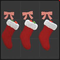 圣诞袜子圣诞节元素