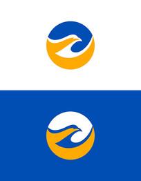 鹰头元素logo设计 CDR