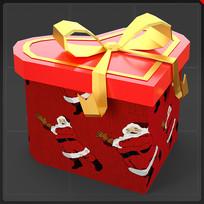 装饰品心形礼物盒圣诞礼物