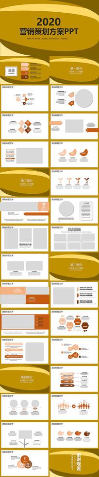 2020年营销策划方案PPT模板