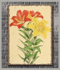 高清花卉装饰画