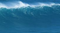 海洋大海海浪翻滚视频素材