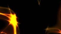 炫酷光线能量流动视频素材