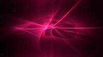炫酷紫色动感光线视频素材