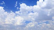 蓝天白云天空视频素材