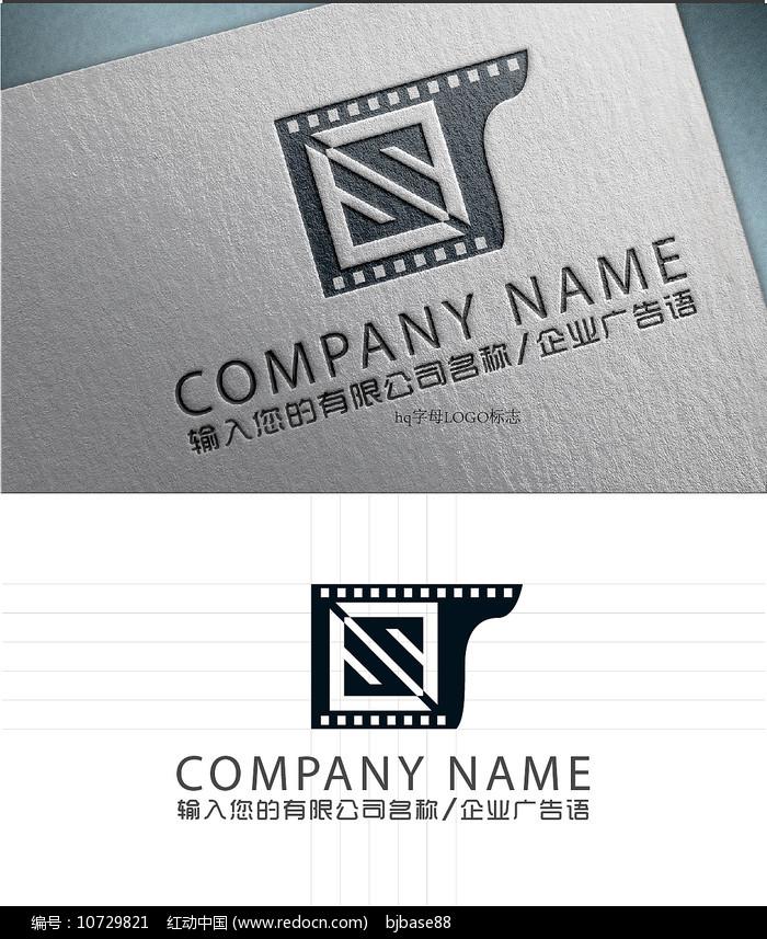 s字母电影LOGO标志设计图片