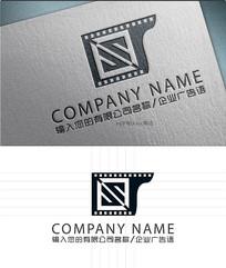 s字母电影LOGO标志设计