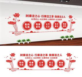 党风廉政文化长廊宣传墙设计