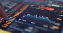 股票行情数据分析视频素材