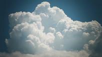 天空云层翻滚视频素材