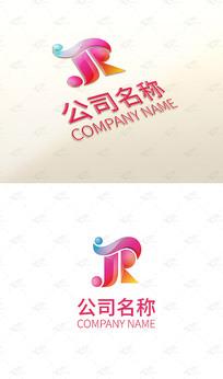 SJR字母logo设计