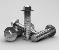 3D工业建模建筑材料金属模型