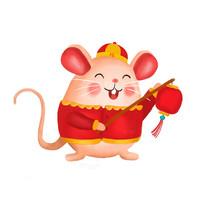 鼠年提灯笼