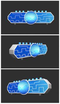 原创科技线路板启动台效果图