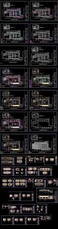 主题咖啡西餐厅施工图