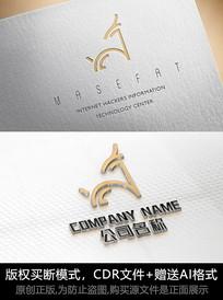 简约鹿logo商标公司标志设计