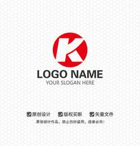 K字母企业LOGO设计