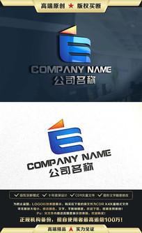 E字母标志E字母LOGO设计