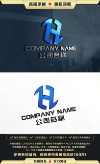 H字母标志H字母LOGO设计
