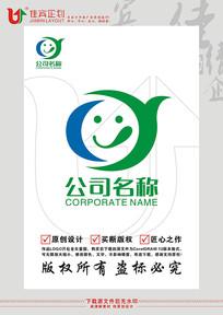YC英文字母嘴馋美食餐饮标志设计