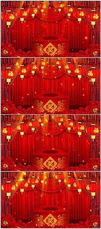春节晚会抽奖背景视频素材