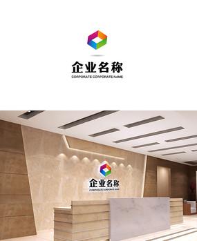 建筑铝业logo设计