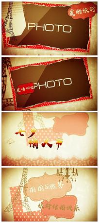 旅行结婚情人节表白示爱图文MV相册视频模板