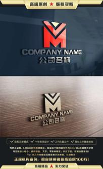 M字母企业LOGO设计