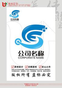 SCE英文字母标志设计