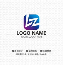 LZ字母娱乐商业LOGO设计