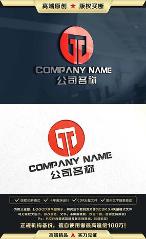 T字母标志T字母LOGO设计