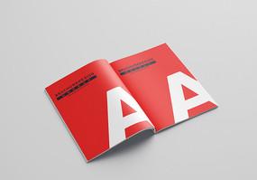 A4A3A5宣传画册样机 PSD