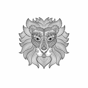 原创素材十二星座之狮子座 PSD