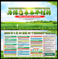 为绿色未来而创新世界知识产权宣传周展板