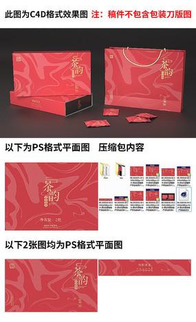 原创元素大气茶叶包装设计 PSD