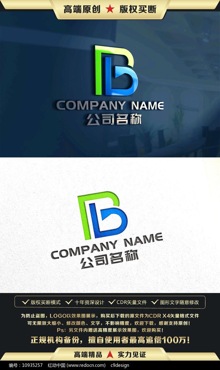 B字母标志B字母LOGO设计设计意韵图片
