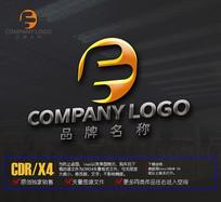 创意E字母LOGO标志设计