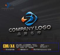 创意SD字母LOGO标志设计