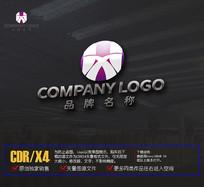 HX字母LOGO设计