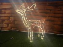 麋鹿灯具意向图