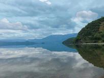 湖面风光图 青山绿水风景照