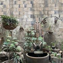 日式竹式蓄水池