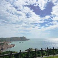 大陈岛海边风景照