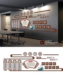 传统中医介绍文化墙
