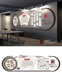 中医文化介绍文化墙