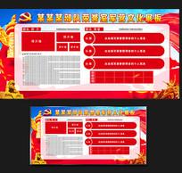 红色党建荣誉宣传栏