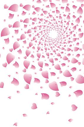 花瓣背景图免扣素材 AI